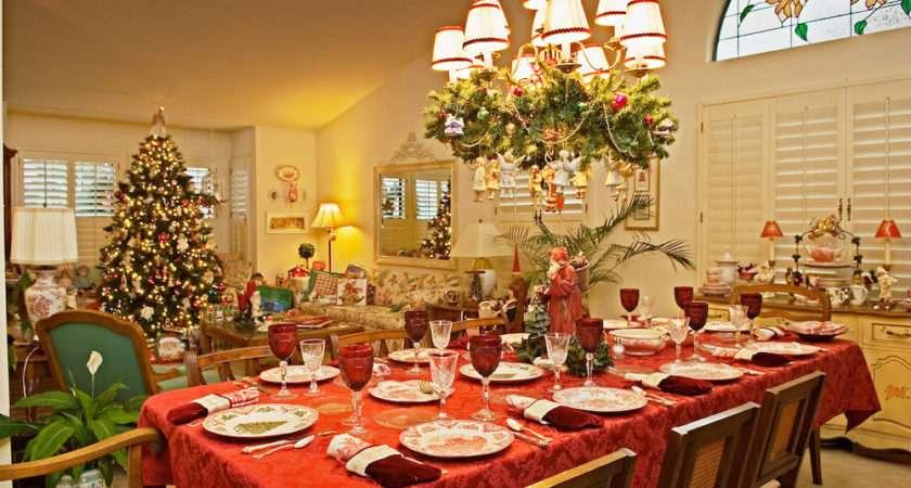 Christmas Dinner Table Greg Vaughn Photography