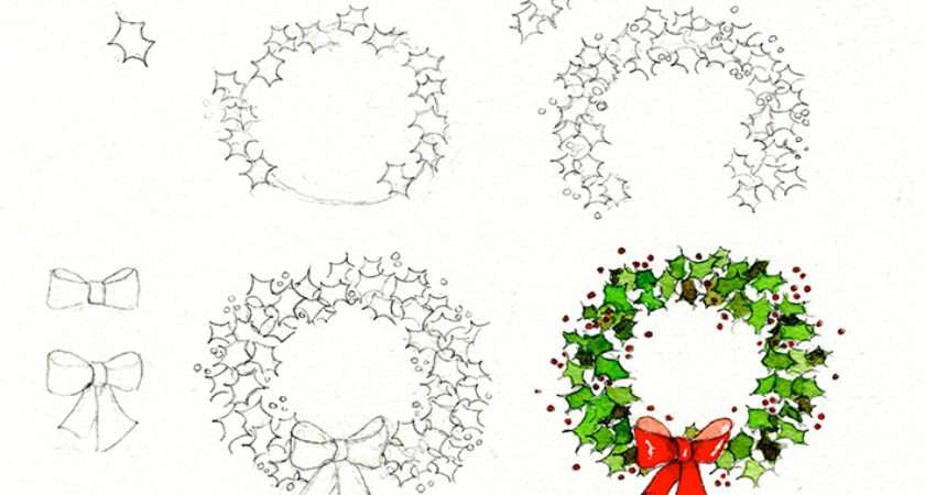 Christmas Drawing Ideas Get Holiday Spirit