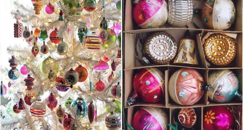 Christmas Home Decor Vintage Decorations