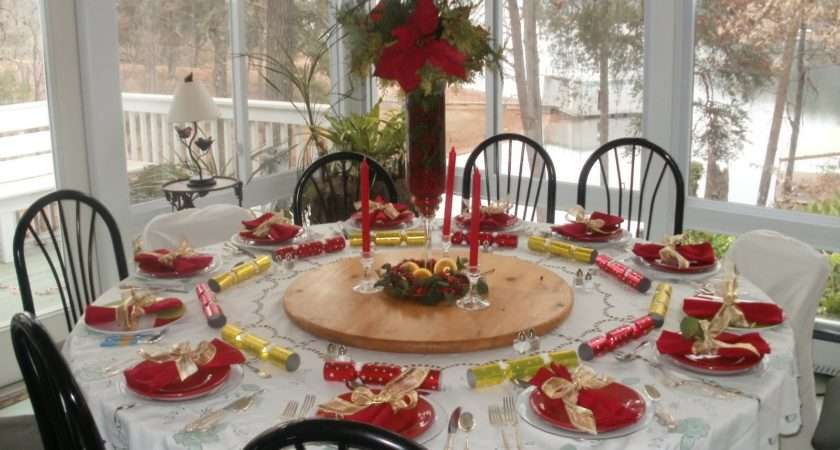 Christmas Party Table Decorating Ideas