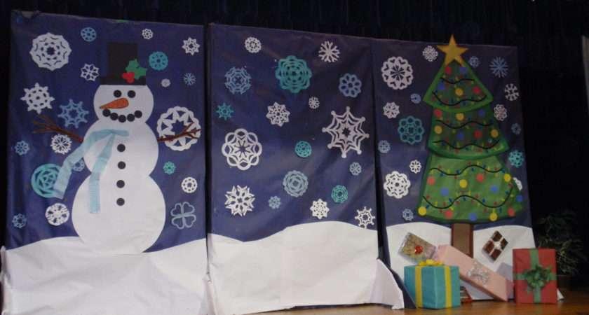 Christmas Program Backdrop Destination Imagination Pinterest