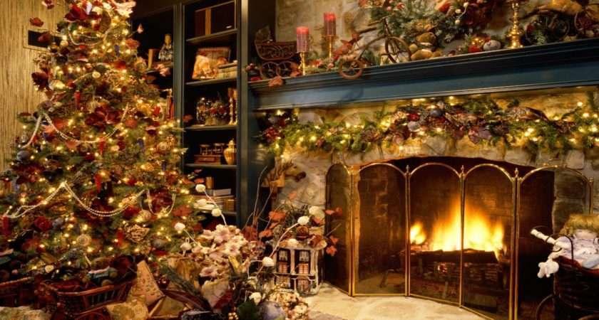 Christmas Room Grasscloth