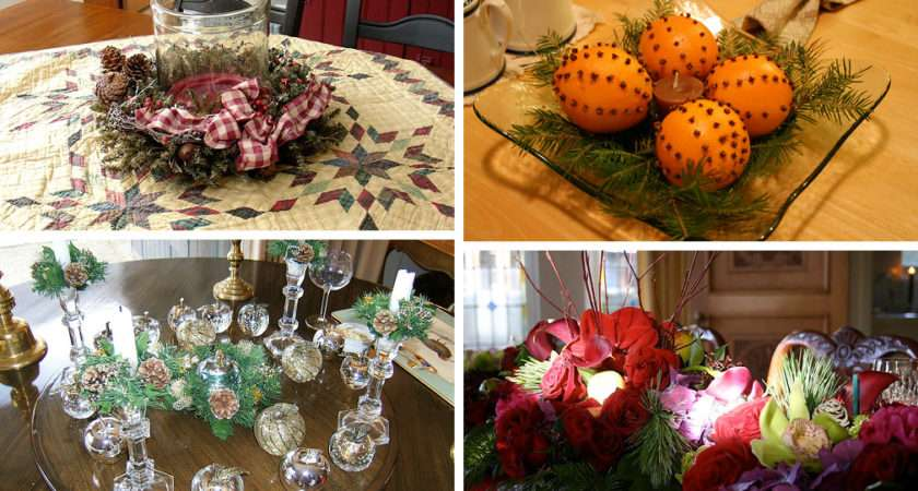 Christmas Table Centerpiece Decorations