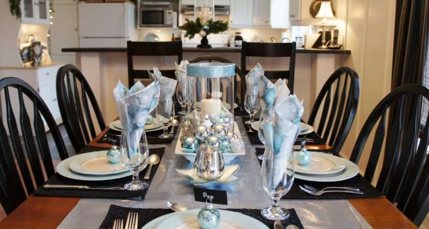 Christmas Table Decorations Entertaining Ideas Party Themes