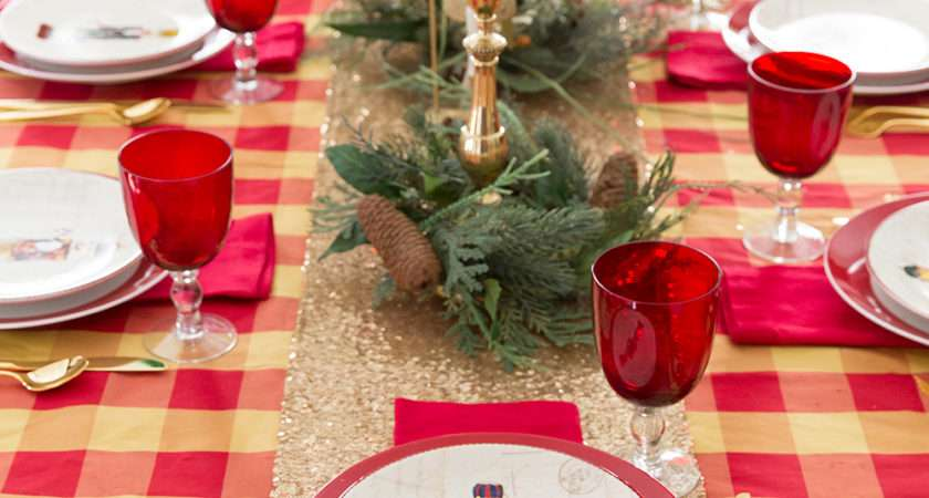 Christmas Table Ideas Nutcracker Tablescape