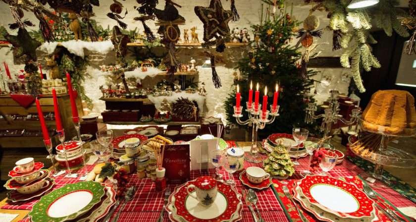 Christmas Table Settings Decoration Ideas