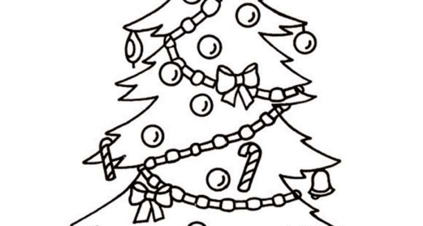 Christmas Tree Drawing Ideas Kids Inspirationseek