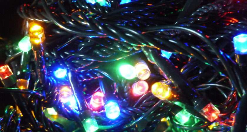 Christmas Tree Fairy Lights Multi Colour Indoor Outdoor Battery