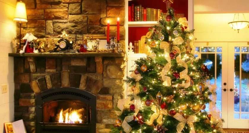 Christmas Tree Ideas Gold Decor Holiday Decorating