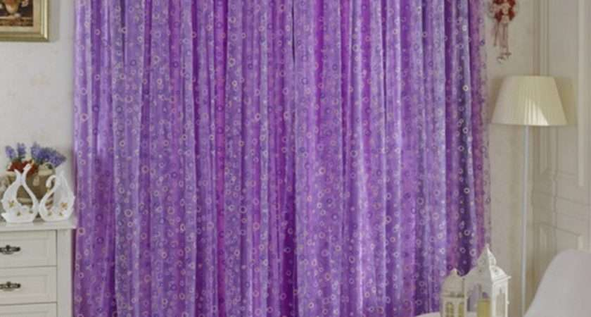 Circle Printed Room Decor Voile Window Curtain Sheer Panel