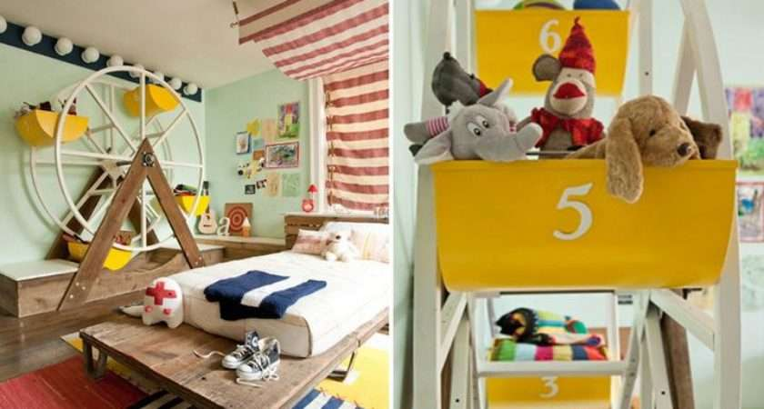 Circus Themed Rooms Decor Kids Marvelous Homes
