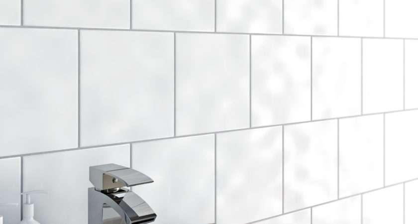 Clarity Bumpy White Gloss Tile