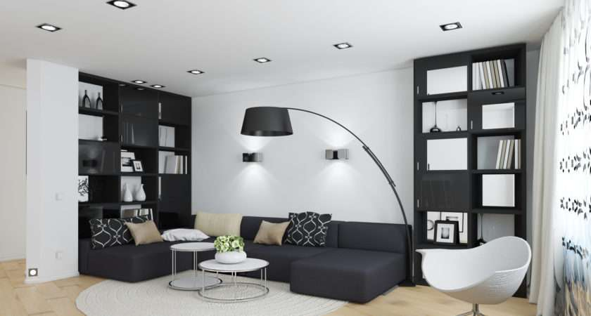 Classic Black White Room Decor Ceiling