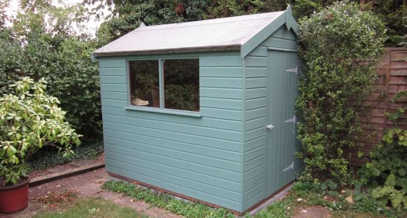 Classic Garden Shed Stone Paint Plan