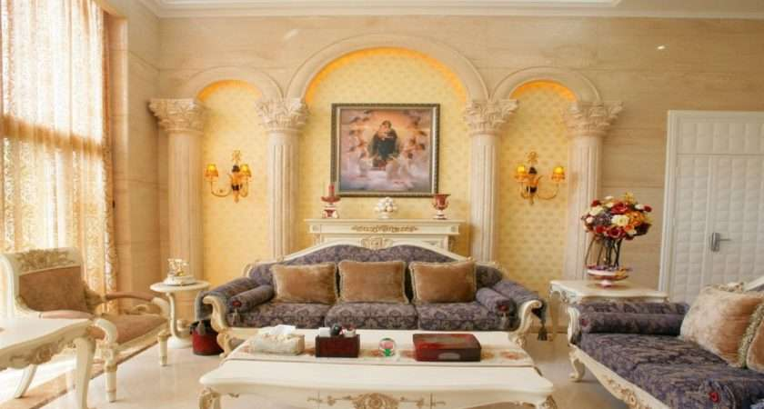 Classic Italian Living Room House Decoration Ideas