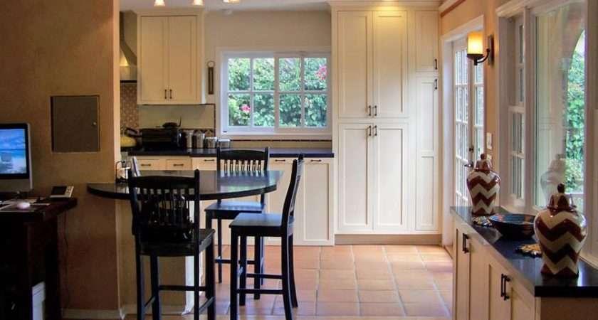 Classic Kitchen Spanish Tile Floor Designer Kitchens