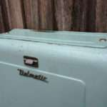 Classic Light Blue Vintage Delmatic Toilet Cistern