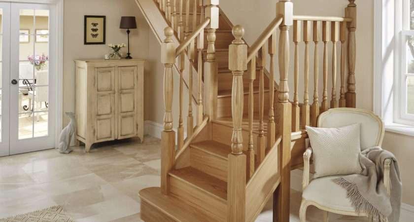 Classic Oak Staircase Design Neville Johnson