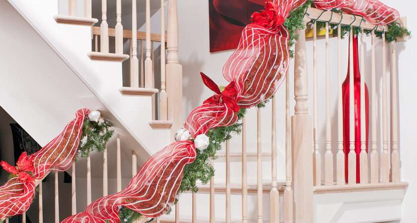 Classic Red White Christmas Decorating Diy House Help