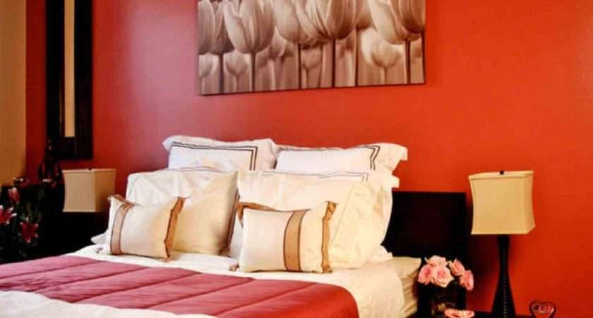 Classy Red Black White Bedroom Ideas Bit Orange