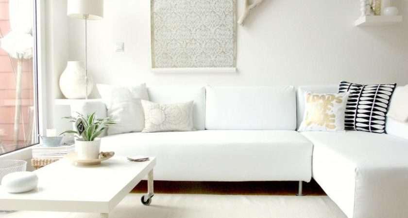 Classy White Living Room Ideas