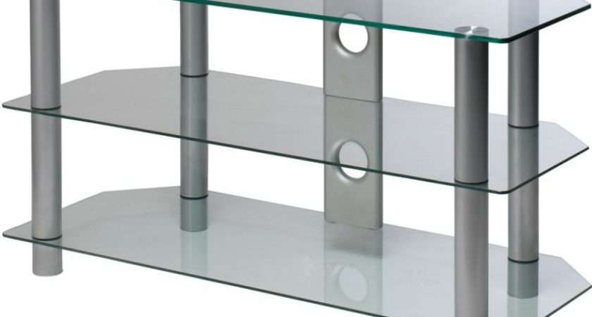 Clear Glass Inch Rectangular Stand Storage Units