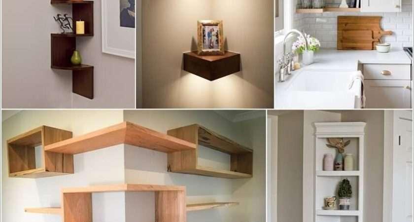 Clever Corner Shelf Ideas