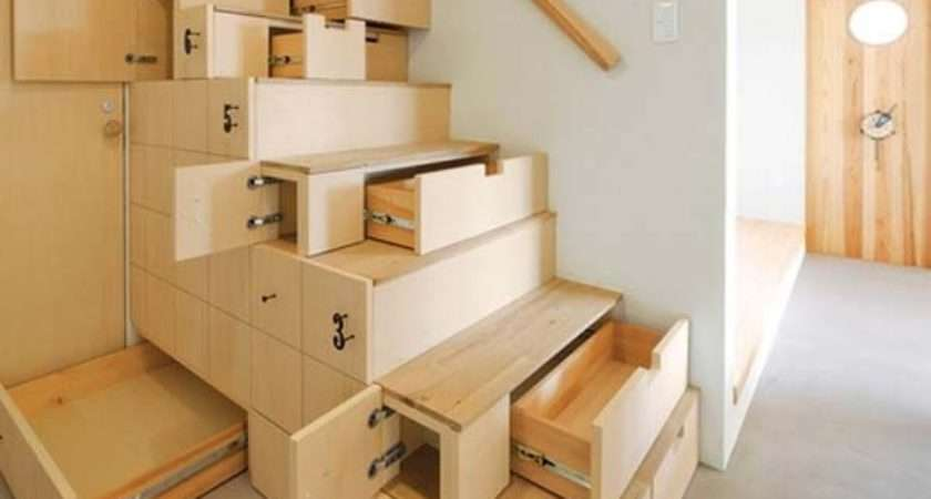 Clever Stairs Storage Ideas