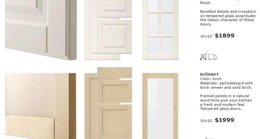 Close Look Ikea Sektion Cabinet Doors