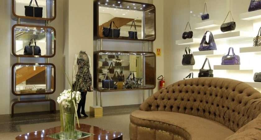 Clothes Shop Interior Wall Home Designer