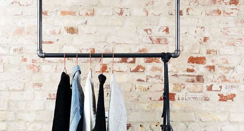 Clothing Rack Can Hung Ceiling Many