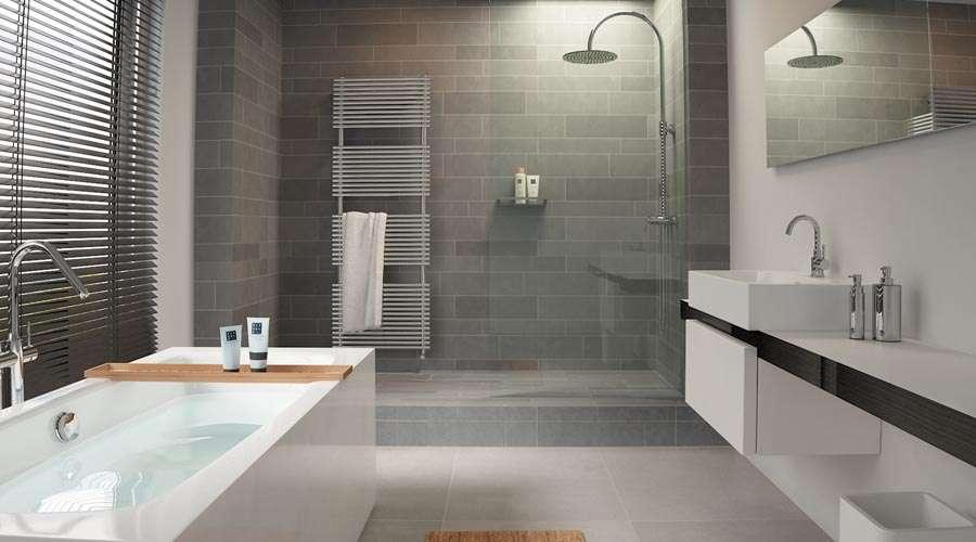 Clou Match Minimalist Bathroom Wetroom Freestanding Bath