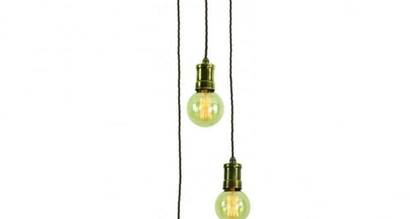 Cluster Pendant Light Fitting Vintage Style