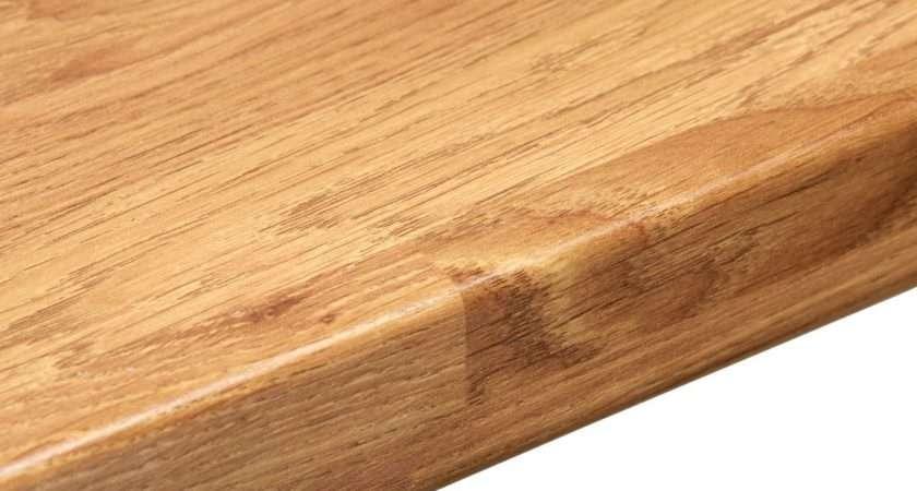 Colmar Oak Laminate Wood Effect Round Edge Worktop