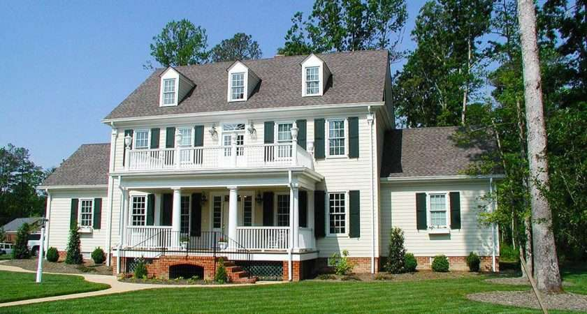 Colonial Plans Architectural Designs