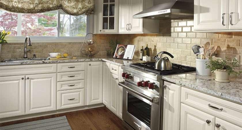 Colonial White Granite Cabinets Backsplash Ideas