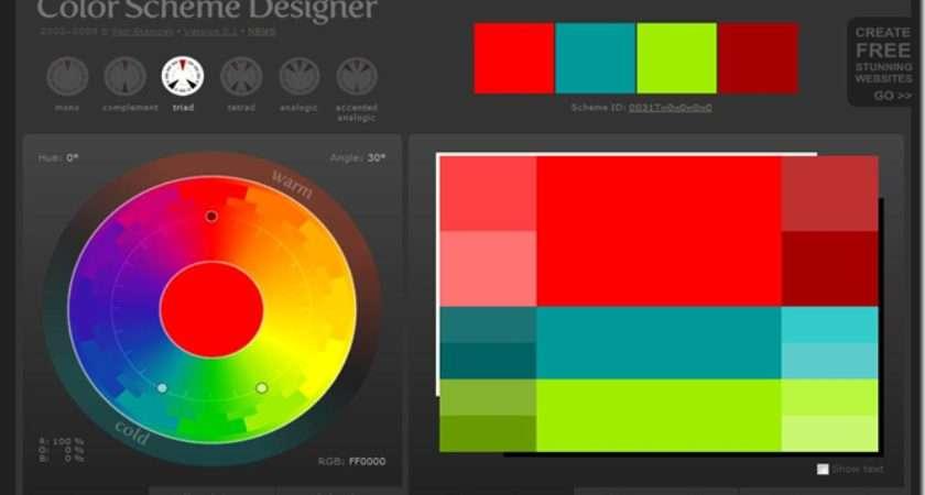 Color Scheme Generator Art Nouveau Palette