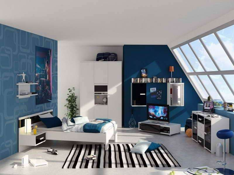Delightful Color Schemes Boys Bedrooms