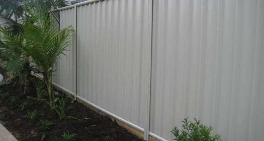 Colorbond Fences Range Colours