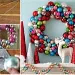 Colorful Bauble Wreath Photos Facebook