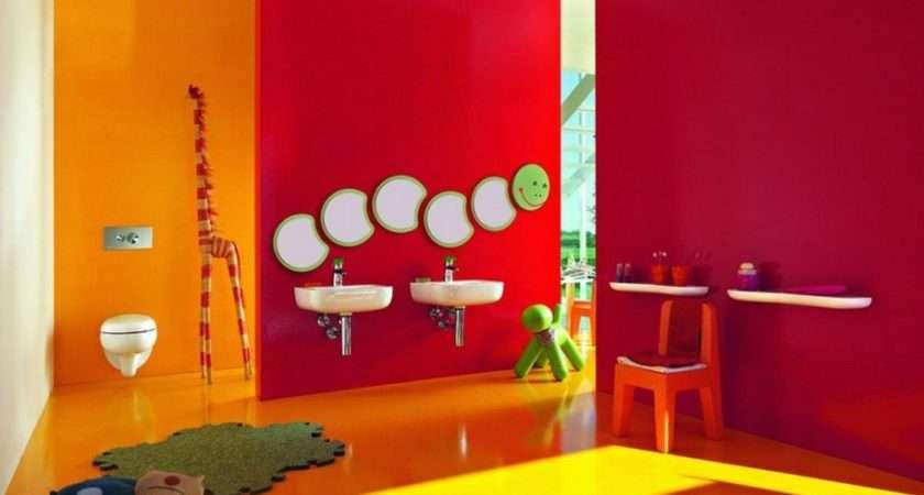 Colorful Fun Kids Bathroom Ideas