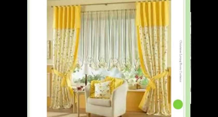 Colorful Living Room Curtains Christmas Youtube