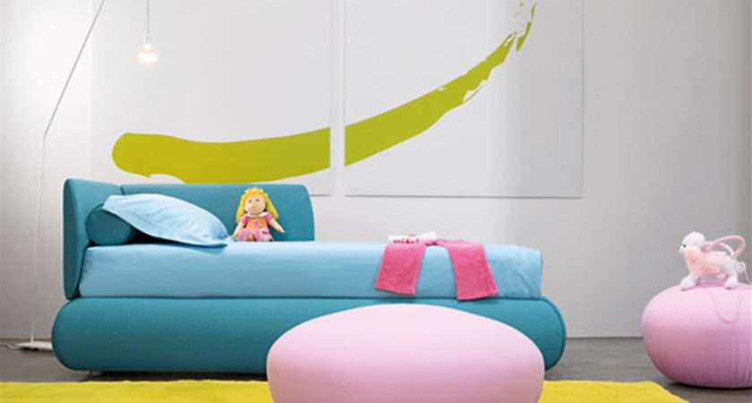 Colorful Multifunction Candy Bed Childrens Bedroom