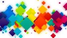 Colorful Squares Psdgraphics