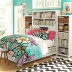 Colorful Teenage Girls Room Decor Small House