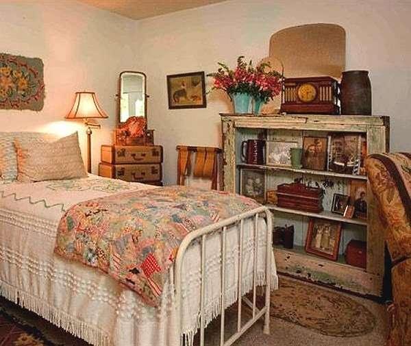 Colorful Vintage Bedroom Designs Becuo