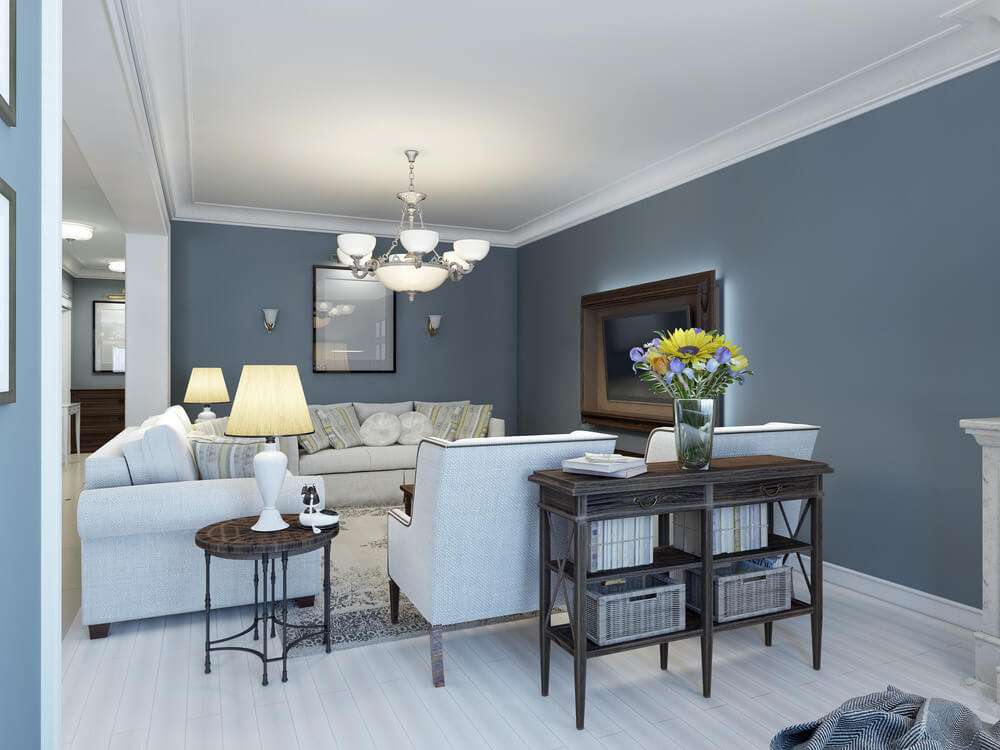 Combine Grey Blue Browns Give Your Room Relaxing Aura