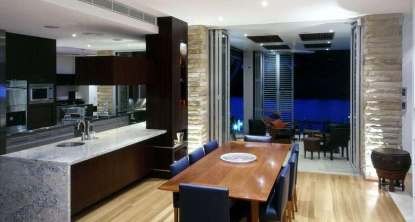Combining Kitchen Dining Room Interior Decoration Decosee