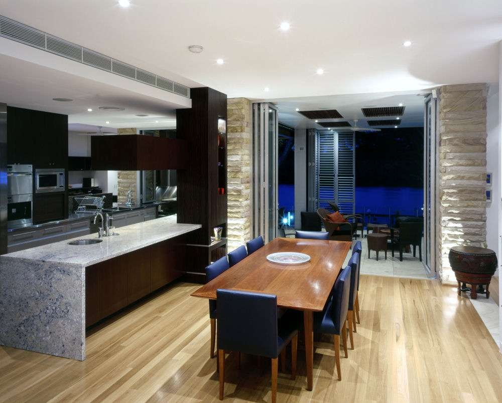 Combining Kitchen Dining Room Interior Decoration Decosee