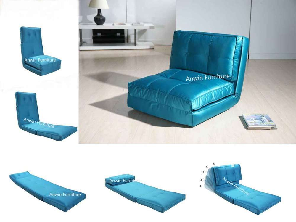 Comfortable Foam Cushion Sofa Floor Bed Single Seat Leisure